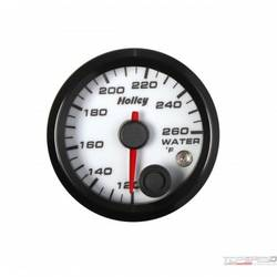 2-1/16 HOLLEY WATER TEMP GAUGE-WHT