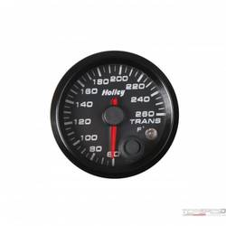 2-1/16 HOLLEY TRANS TEMP GAUGE-BLK