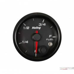 2-1/16 HOLLEY FUEL LEVEL GAUGE-BLK