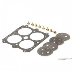 THROTTLE PLATE KIT .150 HOLE