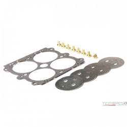 THROTTLE PLATE KIT SS .100HOLE