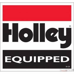 DECAL-HOLLEY EQUIPPED