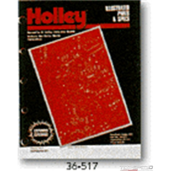 MANUAL-HOLLEY ILL PTS/SPECS