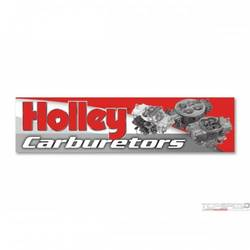 HOLLEY CARB BANNER