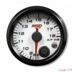 2-1/16in. Standalone Wideband Air/Fuel Gauge, White Face