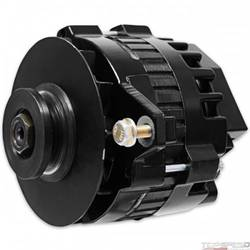 DynaForce Alternator 120 Amp, Black Straight Mount