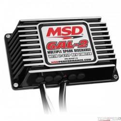 BLK MSD-6AL-2 w/2-Step Limiter 4 6 8cyl