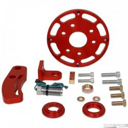 CRANK TRIGGER KIT, SMALL BLOCK CHEVY, 6IN. BALANCER