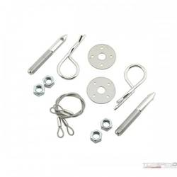 HOOD PIN KIT, OVAL TRACK 3in.L