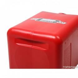 UTILITY JUG 5 GAL RED W/HOSE SQUARE