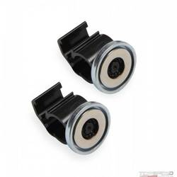 MAGNETIC CABLE CLAMP-1/2 CABLE/WIRE BLK 2PK