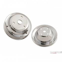CHRM PULLEY SET SB CHEV