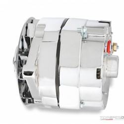 ALTERNATOR GM 140 AMP V-BELT CHROME