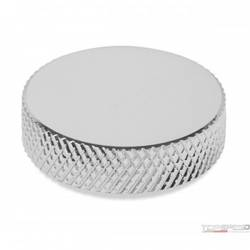 KNURLED AIR CLEANER NUT CHROME