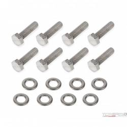 TIMING COVER BOLTS-GM LS-SS POL HEX