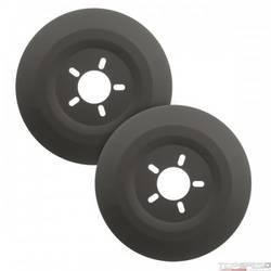 16in. WHEEL DUST SHIELDS 2/SET