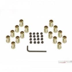 ROCKER ARM NUTS 3/8 GOLD