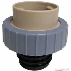 Fuel Cap Tester Adapter - Tan W- Grey Ring