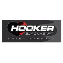 HOOKER BLACKHEART BANNER