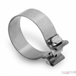 2-1/4in STAINLESS STEEL BAND CLAMP 2-PACK
