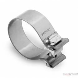 2-1/2in STAINLESS STEEL BAND CLAMP 10-PACK