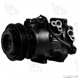 Reman Halla DVE16 Compressor with Clutch
