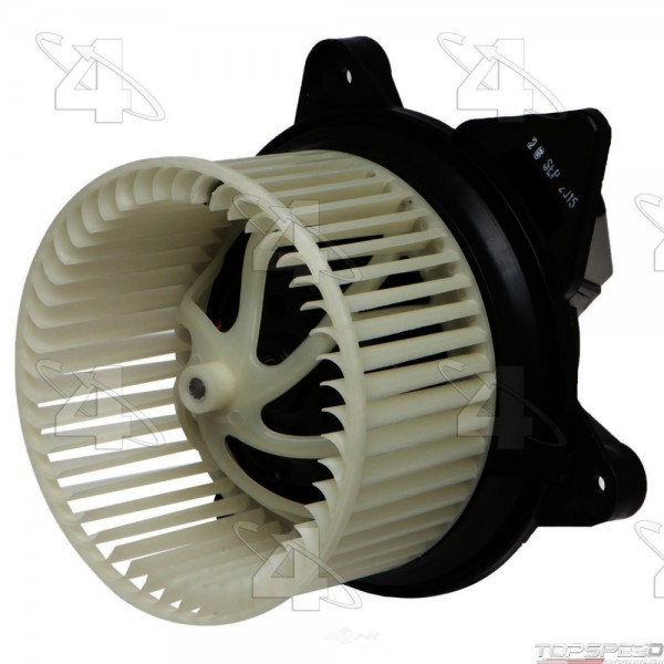 Flanged Vented CCW Blower Motor with Wheel