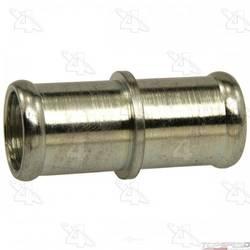 Heater Fitting Steel & Aluminum Straight Hose Splicer