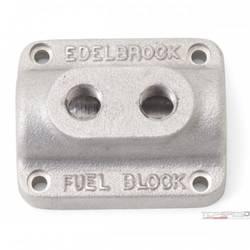 FUEL BLOCK DUAL CARB AS CAST