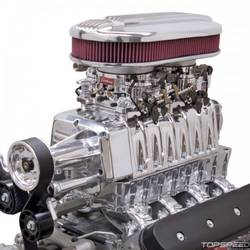 XX E-Force Dual-Quad Supercharger for LS Rectangle Port-Carb/Polished