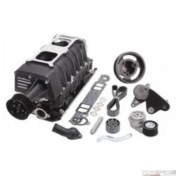 SC SBC TVS2300 NON-INTERCOOLED DUAL CARB W/OUT CARBS BLACK
