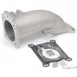 EFI INTAKE ELBOW ULTRA LOW PROFILE UNIVERSAL 90MM TB TO 4150 FLANGE
