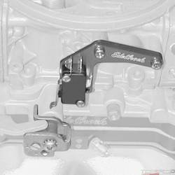 BILLET MICROSWITCH BRACKET FOR CHOKELESS HOLLEY CARB