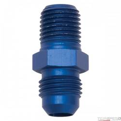 6AN X 1/4in. NPT STRAIGHT FITTING BLUE