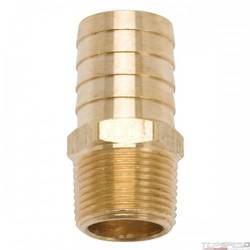 FITTING BRASS HOSE 1.00in. HOSE ID X 3/4-14 PIPE FOR SB CHRYSLER MANIFOLDS