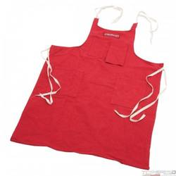 XX SHOP APRON RED DENIM W/RED THREAD