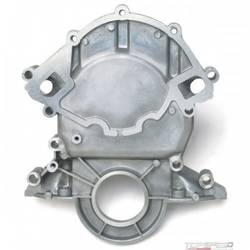 SBF TIMING COVER, 86-93 5.0L/88-LATER 351W ENGINES(REVERSE ROTATION WATER PUMPS)