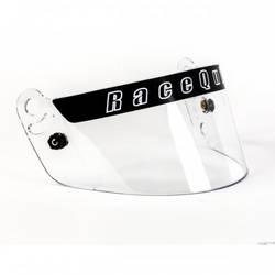 RaceQuip Clear Helmet Face Shield Fits Pro Model Helmet