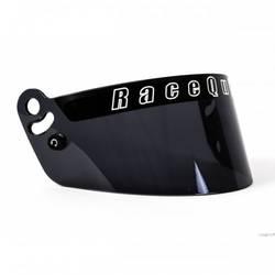 RaceQuip Dark Smoke Helmet Face Shield Fits Pro Model Helmet