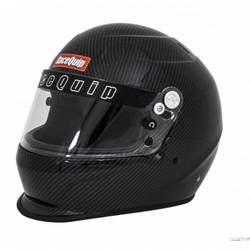 RaceQuip PRO15 Full Face Helmet Snell SA-2015 Rated, Carbon Fiber Graphic 2X-Large