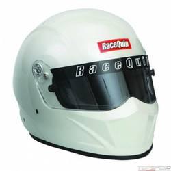 RaceQuip VESTA15 Full Face Helmet Snell SA-2015 Rated, Pearl White Small
