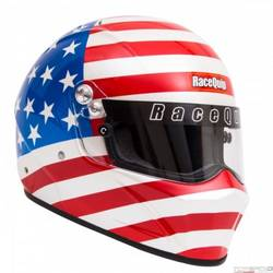 RaceQuip VESTA15 Full Face Helmet Snell SA-2015 Rated, American Flag Graphic 2X-Large