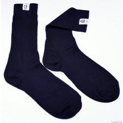 RaceQuip SFI 3.3 Fire Retardant (FR) Socks Large -Shoe Size 10-11 Black