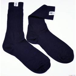 RaceQuip SFI 3.3 Fire Retardant (FR) Socks 2X-Large -Shoe Size 14-15 Black