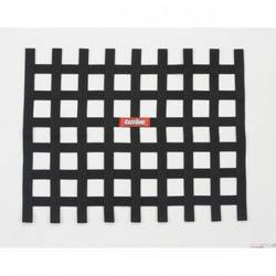 RaceQuip Ribbon Style Race Car Window Net, Black 18 H X 24 W
