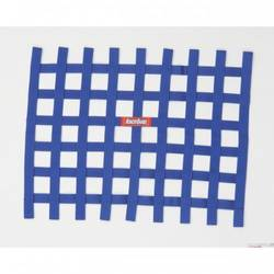 RaceQuip Ribbon Style Race Car Window Net, Blue 18 H X 24 W