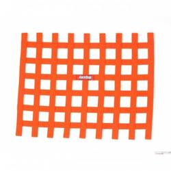 RaceQuip Ribbon Style Race Car Window Net, Orange 18 H X 24 W