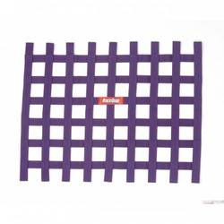RaceQuip Ribbon Style Race Car Window Net, Purple 18 H X 24 W