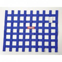 RaceQuip Ribbon Style Race Car Window Net SFI 27.1 Certified, Blue 18 H X 24 W