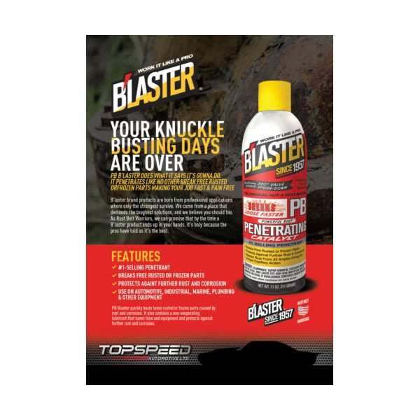Blaster Penetrating Catalyst 4 Pack with new Pro Straw